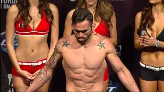 UFC 169: Official Weigh-In