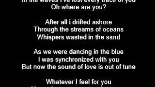 Woodkid - I Love You - Lyrics [HQ]