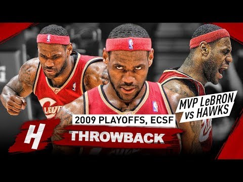 MVP LeBron James UNSTOPPABLE MODE! Full Series Highlights vs Hawks 2009 NBA Playoffs - BEAST!