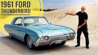 1961 Ford Thunderbird; Dev V8 motor - Jilet gibi tasarım