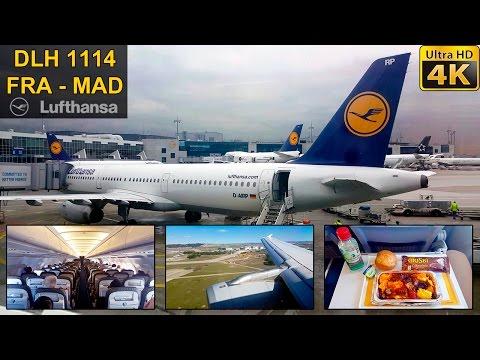 Flight Experience ✈ Frankfurt - Madrid ✈ LUFTHANSA ✰ Full Flight #30