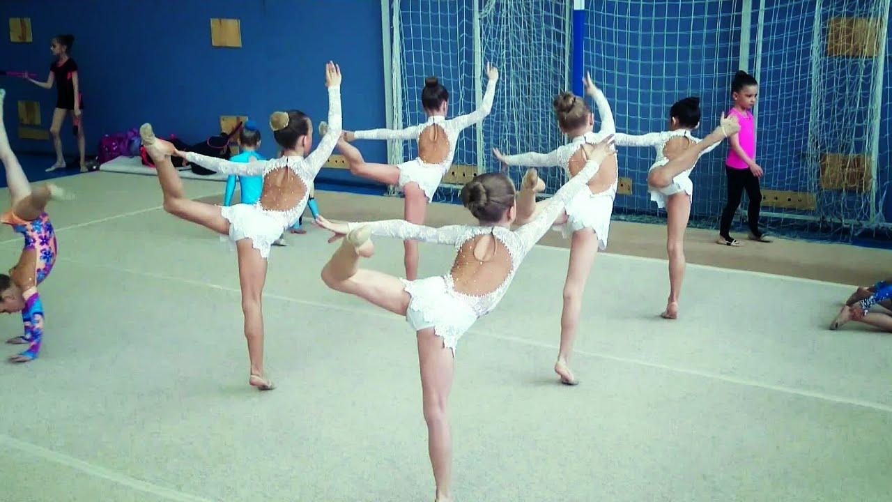 Тренировка художественная гимнастика музыка 16 фотография