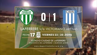 LAFERRERE vs VICTORIANO ARENAS EN VIVO Fecha 17 Primera C Apertura 2019