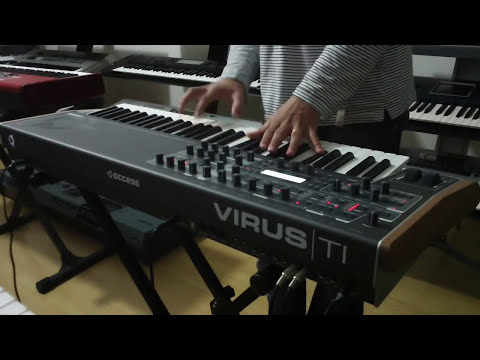 ACCESS VIRUS TI2 , DEMO NA CLASSIC KEYBOARDS