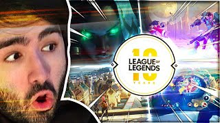 Reacting to Riot's New Games! Anime! Champs! And More!
