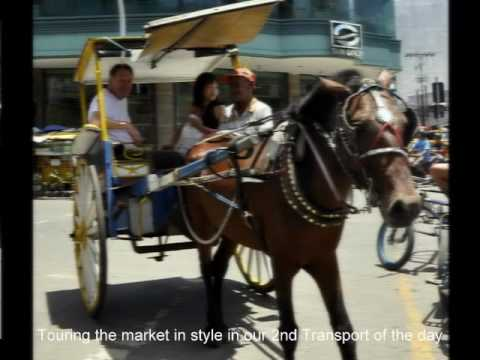Market and different Transport in Cebu