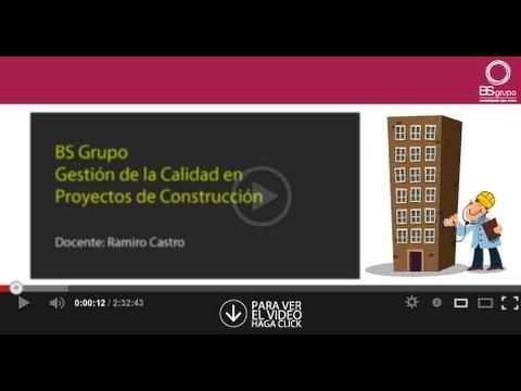GESTIÓN DE LA CALIDAD EN PROYECTOS DE CONSTRUCCIÓN