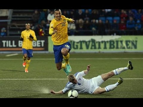 Zlatan Ibrahimovic ♦ TOP 5 Goals ♦ (Sweden)