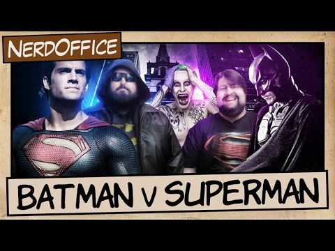 Batman v Superman v Coringa | NerdOffice S06E18