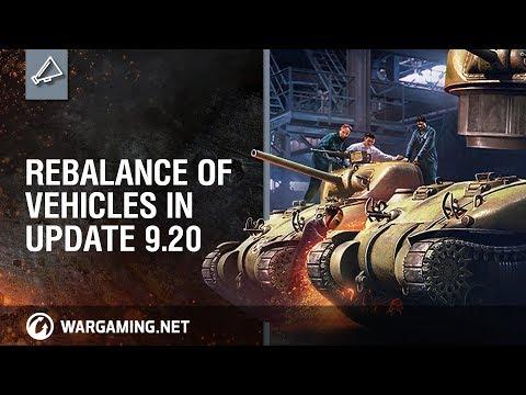 Developer Diaries: Rebalance of Vehicles in Update 9.20