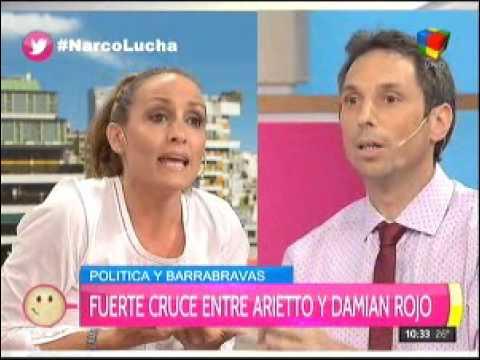 Fuerte discusión entre Damián Rojo y Florencia Arietto