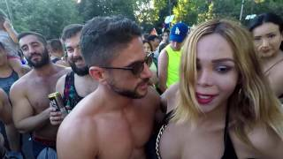 World Pride Parade Madrid 4 2017 includes full nudity So Parental Guidance recommended.
