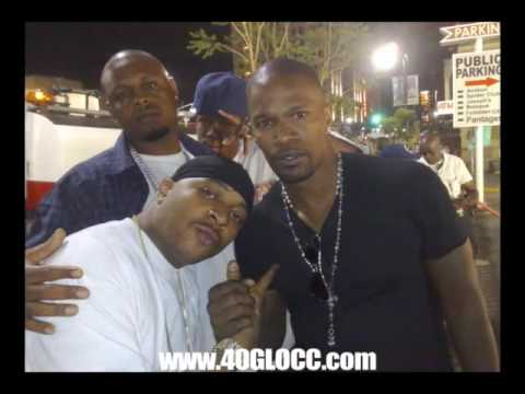 Jamie Foxx Says 40 GLOCC ZOOLIFE Rush Plies Video Plies Hides In The Bathroom & GRINDIN VIDEO