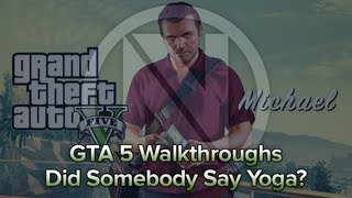 "GTA 5 Did Somebody Say Yoga? ""Don't drink the soda!"""