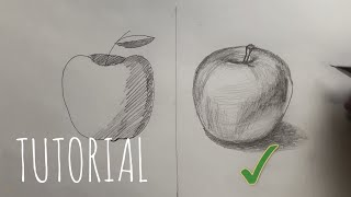Drawing an APPLE with Pencil.   Do / Don