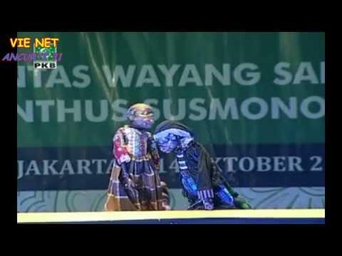 Wayang Golek Santri Ki Enthus Terbaru 2016  - Lakon Lupit Nulungi Putri (Bag 2)