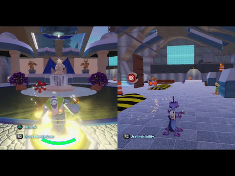 Disney Infinity Toy Box Share Mike In Trouble