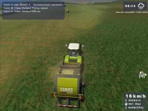 Landwirtschafts Simulator 2009 - Sianokosy part 2/2