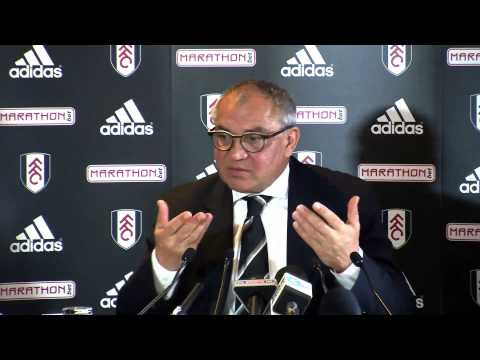 Felix Magath's First Fulham Press Conference