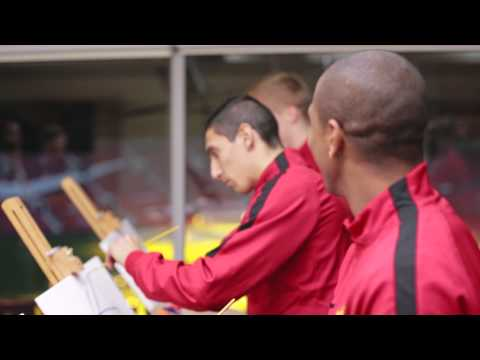 Aeroflot - Manchester United: Paint The Plane Challenge