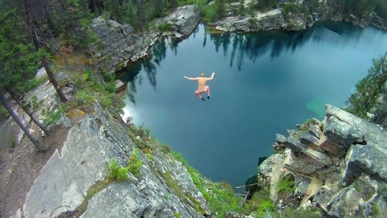 Horseshoe Lake Cliff Jumping - YouTube | 1280 x 720 jpeg 101kB