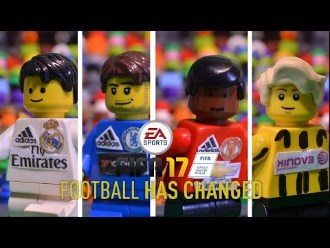 FIFA 17 Trailer in LEGO