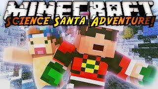 Minecraft : SCIENCE SANTA 2.0 Part 2!  /w JoeyGraceffa