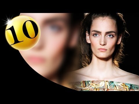#10 Zuzanna Bijoch - Spring 2012 First Face Countdown | Fashiontv - Ftv video