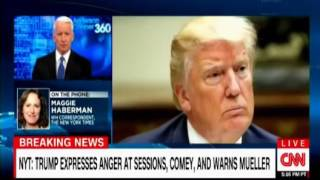 President Trump interview with Maggie Haberman still upset with Sessions & Comey, 2nd Putin meeting