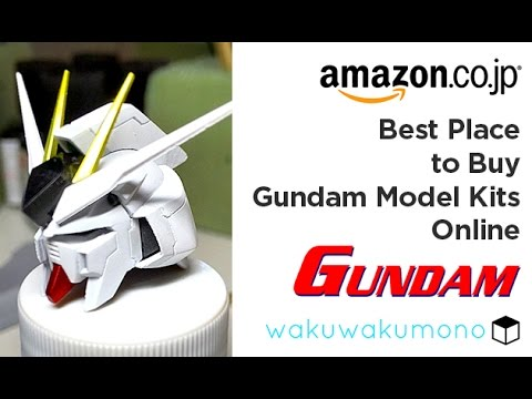 Best Place to Buy Gundam Model Kits Online
