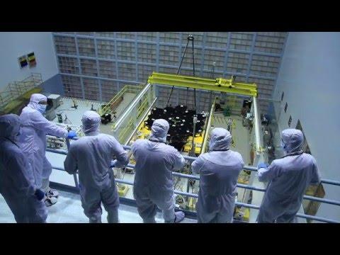 Video Snapshot: James Webb Space Telescope Mirror Installation Complete