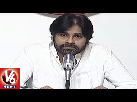 Pawan Kalyan Press Meet | Jana Sena Party To Contest 175 Assembly Seats In AP 2019 Election | V6News