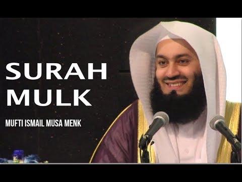 Quran Recitation - Mufti Menk - Surah Mulk - [with Eng Translation]
