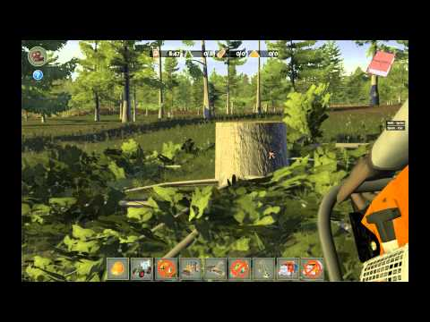 Woodcutter Simulator 2012: Average Commentary w/ Wowcrendor