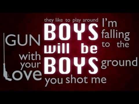 Paulina Rubio - Boys will be boys (Lyric video)