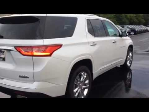 2018 chevrolet traverse high country awd youtube