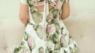 Latest and unique style baby frock beautiful baby girls dress different dress one idea