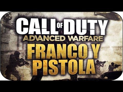 Call Of Duty: Advanced Warfare - PISTOLA + FRANCOTIRADOR MIRA DE HIERRO - Advanced Warfare Gameplay