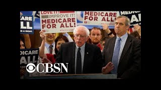 """Sanders' """"Medicare For All"""" plan gets praise from crowd at Fox News town hall"""