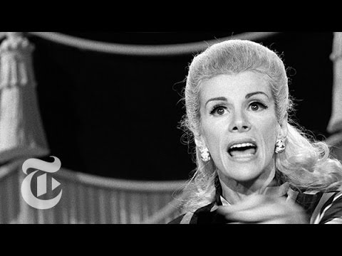 Joan Rivers: Stand-Up Pioneer Dead at 81 - Fifty Years of Funny | The New York Times