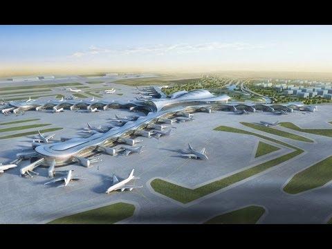 The New Abu Dhabi Airport's Stunning Midfield Terminal