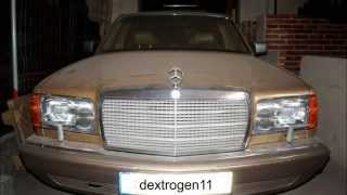 Mercedes-Benz 300 SDL TURBO - W126 - DIESEL COLD START AFTER 6 MONTH
