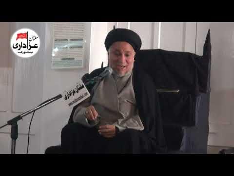 Allama Syed Aoun Naqvi | Majlis e  Aza | 3 Feb 2018 | Haideria Masjid - Imam Bargah Gulgasht  Multan