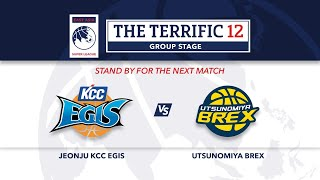 Live Jeonju KCC Egis vs Utsunomiya Brex The Terrific 12