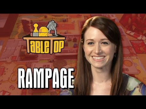 Rampage: Neil Grayston, Ashley Clements and Miracle Laurie Join Wil Wheaton on TableTop [Livestream]