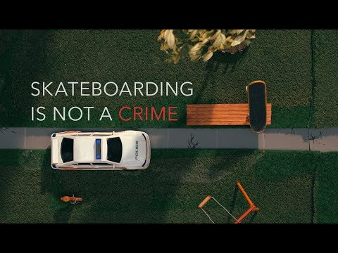 SKATEBOARDING IS NOT A CRIME | A Dramatic Reenactment