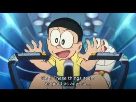 Doraemon Nobita And The New Steel Troops Winged Angels Part 1 English Sub video