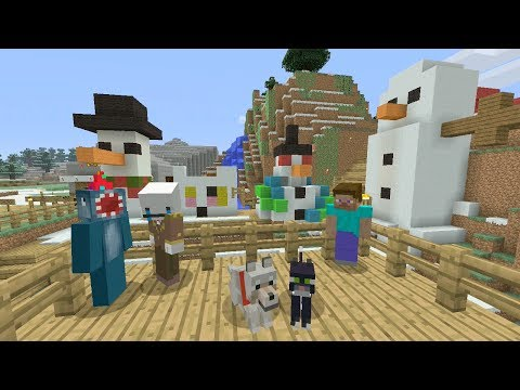 Minecraft Xbox Frosty Long Nose 153