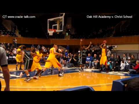 Crazie-Talk:  Oak Hill Academy vs. Christ School (2/11/11)