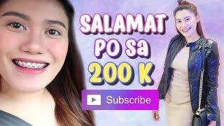 SALAMAT PO SA 200K! + ANG DAMI KONG NA-MEET (ANG SAYA!) 💜 Purpleheiress